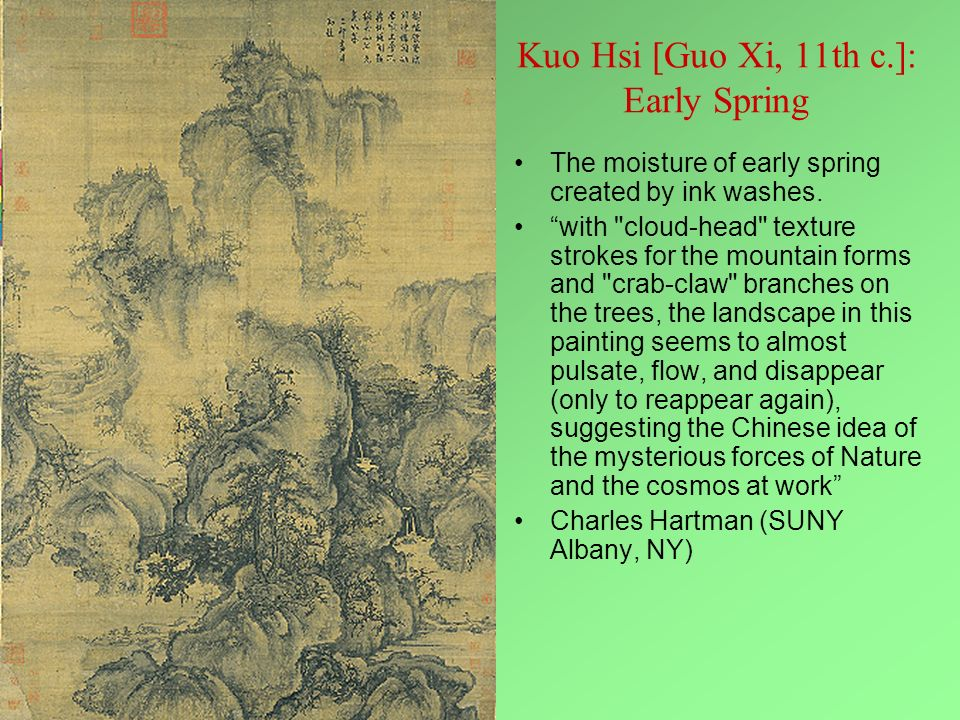 Kuo Hsi [Guo Xi, 11th c.]: Early Spring